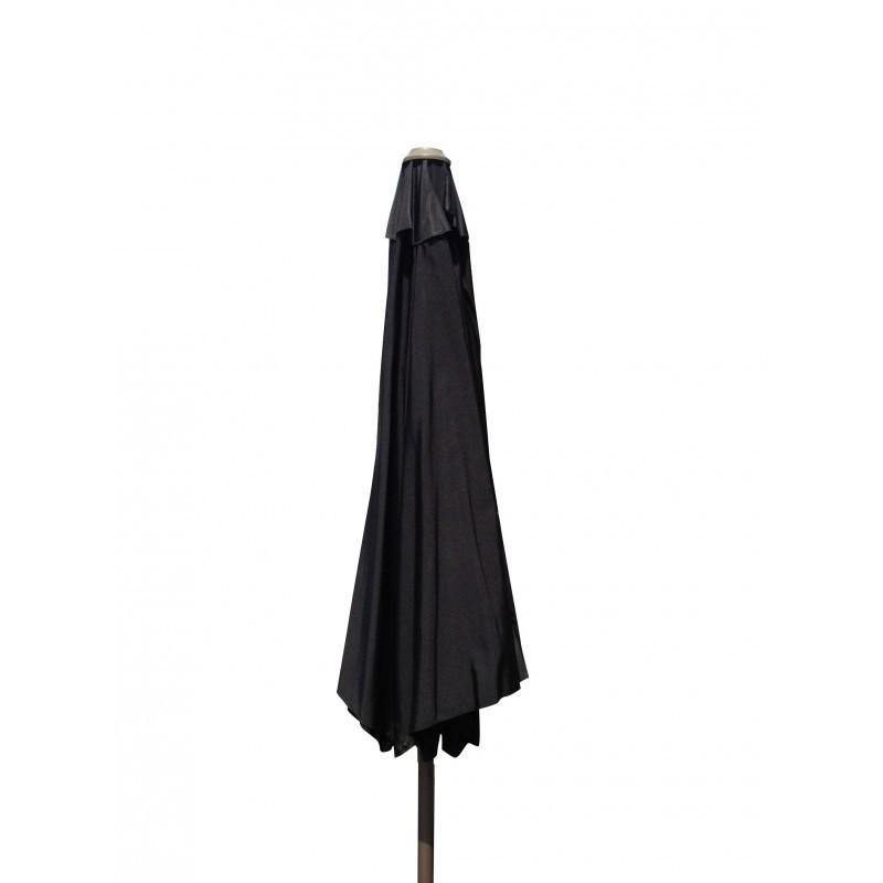Straight umbrella with ventilation MANYA (black) - image 36592