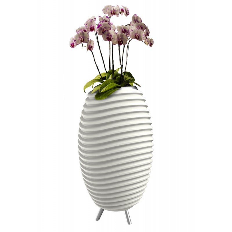 Lamp LED bucket champagne pregnant speaker bluetooth KOODUU synergy S 35 (white) - image 36627