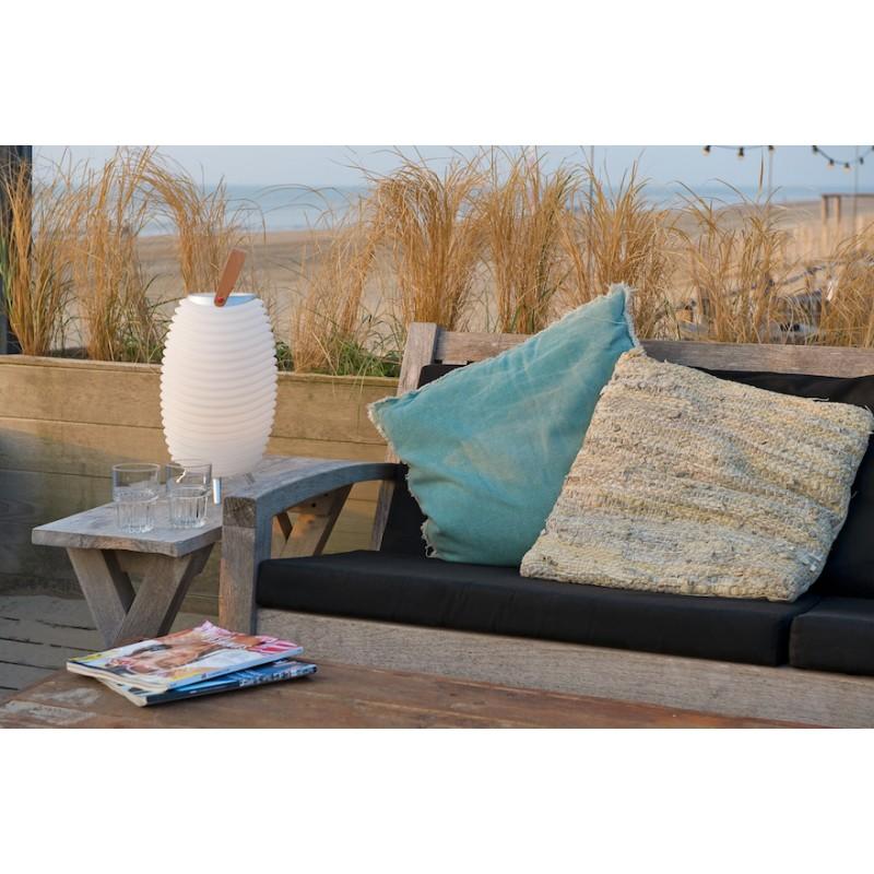 Lamp LED bucket champagne pregnant speaker bluetooth KOODUU synergy S 35 (white) - image 36629