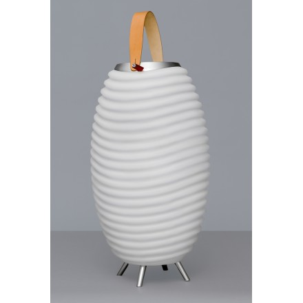 Lamp LED bucket champagne pregnant speaker bluetooth KOODUU synergy S 65 (white)