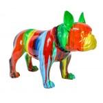 statue-sculpture-decorative-design-chien-en-resine-multicolore