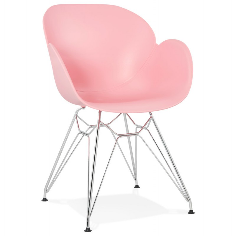 Design chair industrial style tom polypropylene foot for Industrial design chair