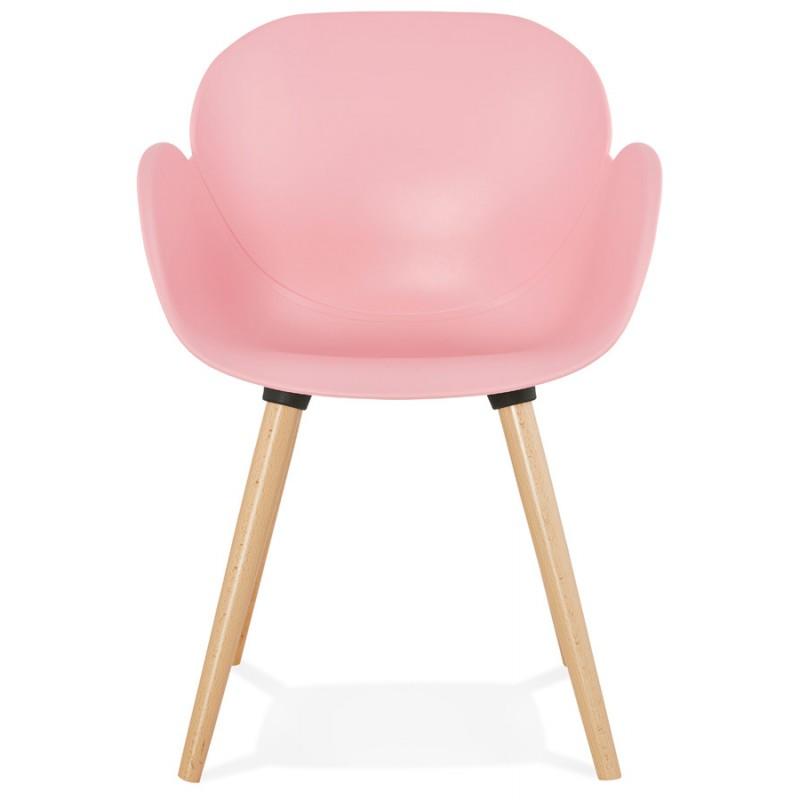 Progettazione di polipropilene di sedia stile scandinavo LENA (cipria) - image 36756