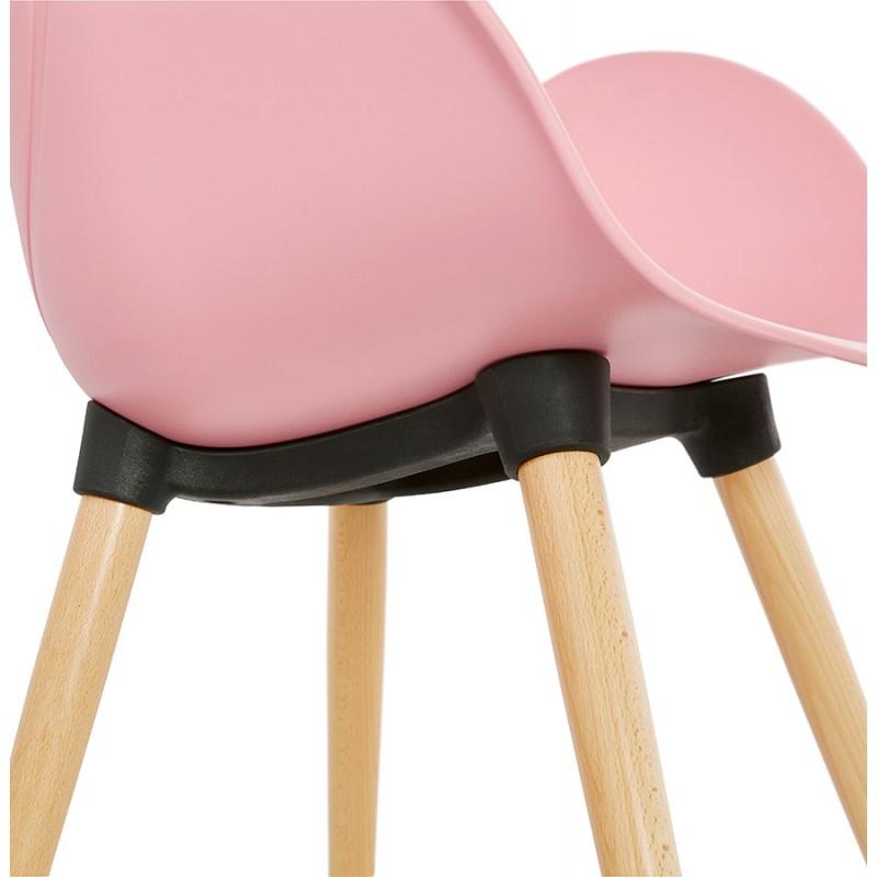 Progettazione di polipropilene di sedia stile scandinavo LENA (cipria) - image 36764