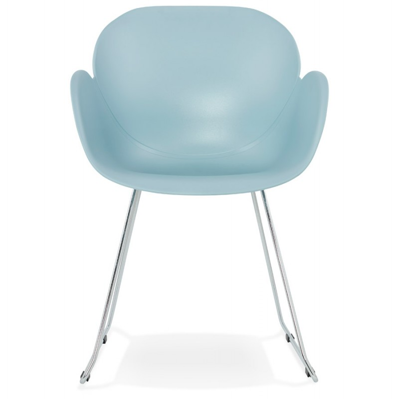 Design chair foot tapered ADELE polypropylene (sky blue) - image 36782