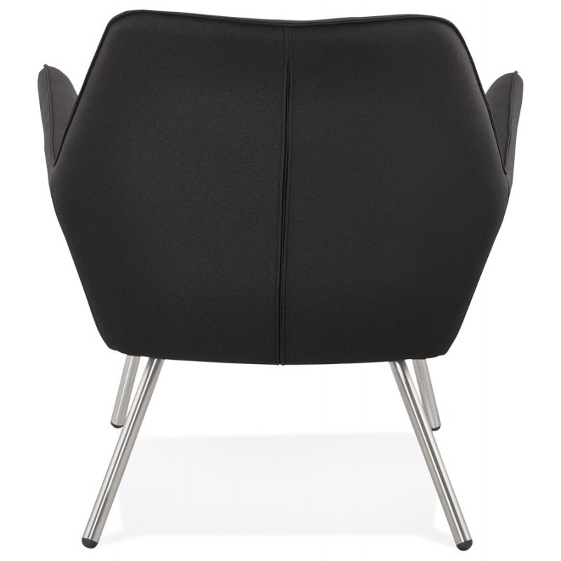 Design lounge YORI fabric Chair (charcoal gray) - image 36798