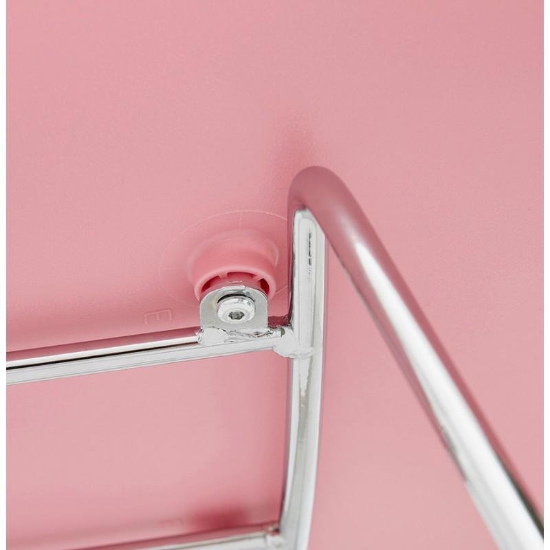 Design chair foot tapered ADELE polypropylene (powder pink) - image 36891