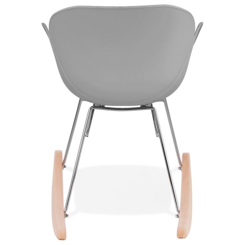 diseño silla polipropileno EDEN (gris claro)