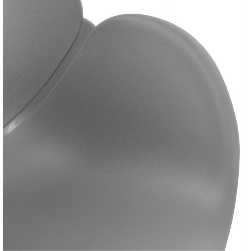 Design EDEN (hellgrau) aus Polypropylen Stuhl Schaukeln - image 36976