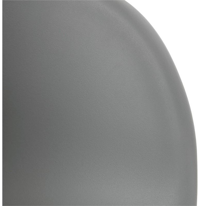 Design EDEN (hellgrau) aus Polypropylen Stuhl Schaukeln - image 36977