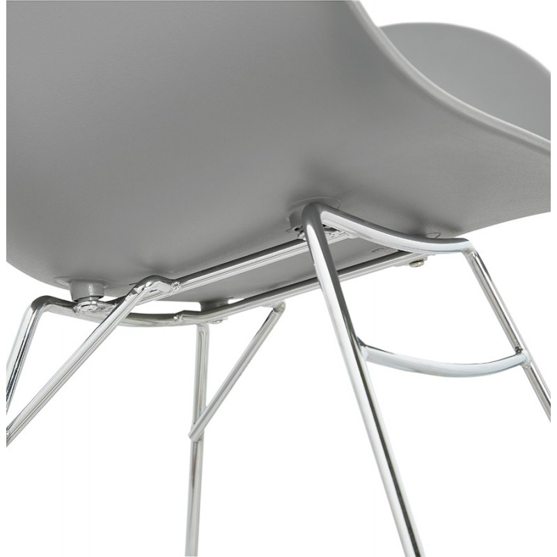 Design EDEN (hellgrau) aus Polypropylen Stuhl Schaukeln - image 36978