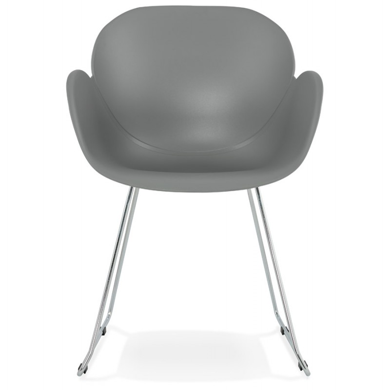 Design chair foot tapered ADELE polypropylene (light gray) - image 36985