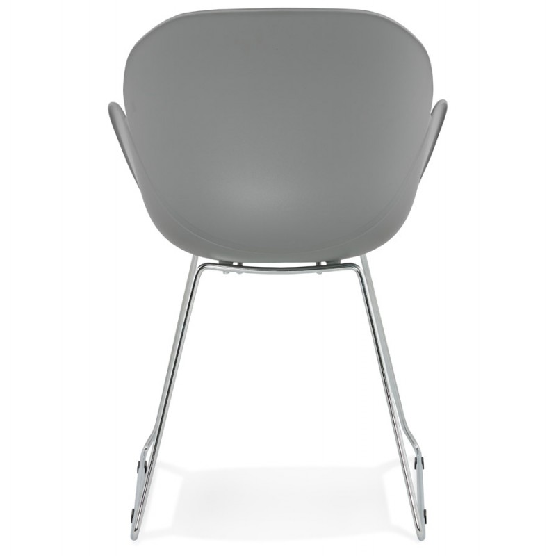Design chair foot tapered ADELE polypropylene (light gray) - image 36988