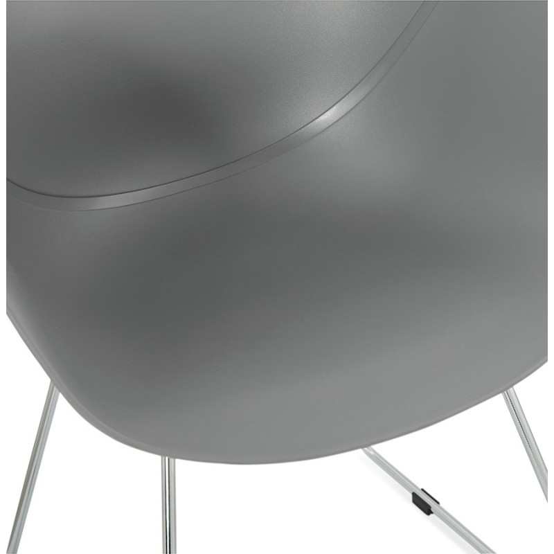 Design chair foot tapered ADELE polypropylene (light gray) - image 36989
