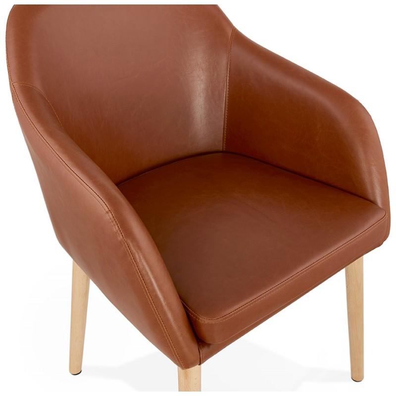 Silla con brazos vintage de PABLO (marrón) - image 37144