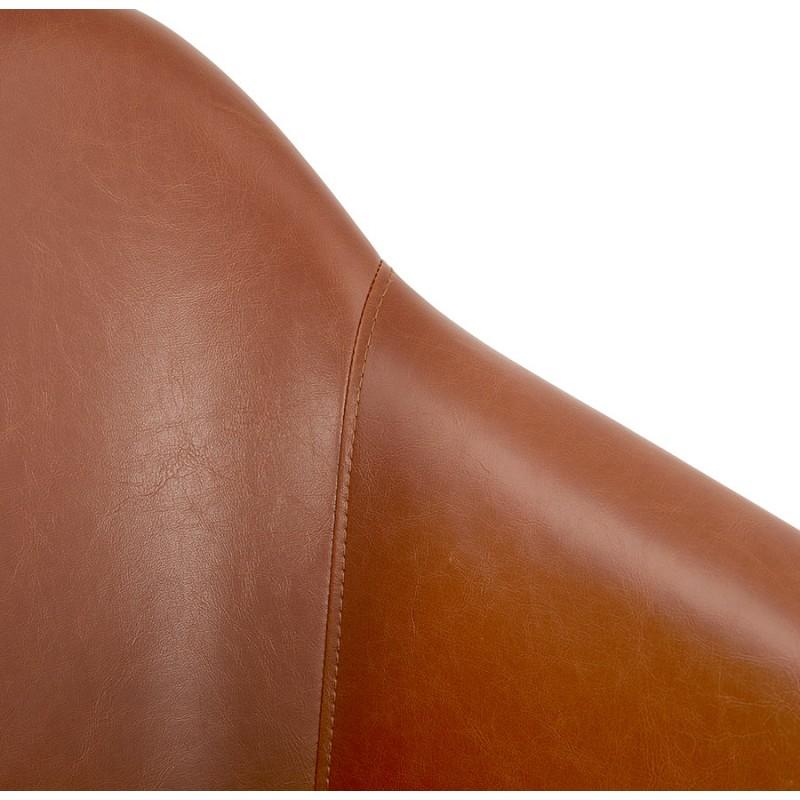 Fauteuil vintage avec accoudoirs PABLO (marron) - image 37146
