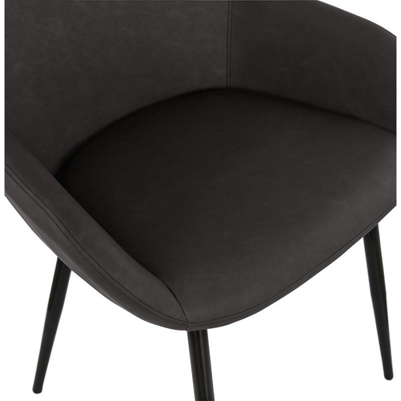 Sedia design e moderno SHELA (grigio scuro) - image 37174