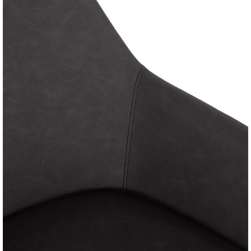Sedia design e moderno SHELA (grigio scuro) - image 37176