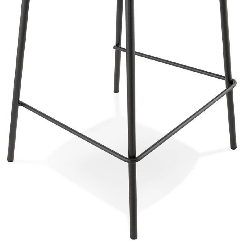 Bar bar halfway up industrial OCEANE MINI (black) chair stool - image 37389