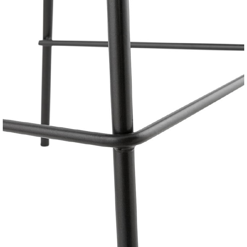 Bar bar halfway up industrial OCEANE MINI (black) chair stool - image 37390