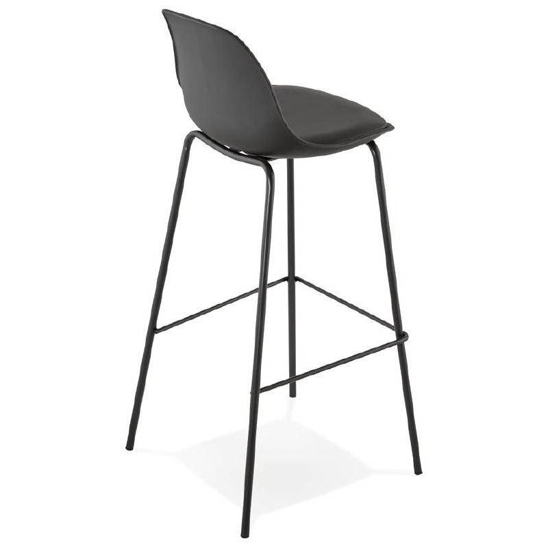 Industrial bar OCEANE (black) Chair bar stool - image 37411