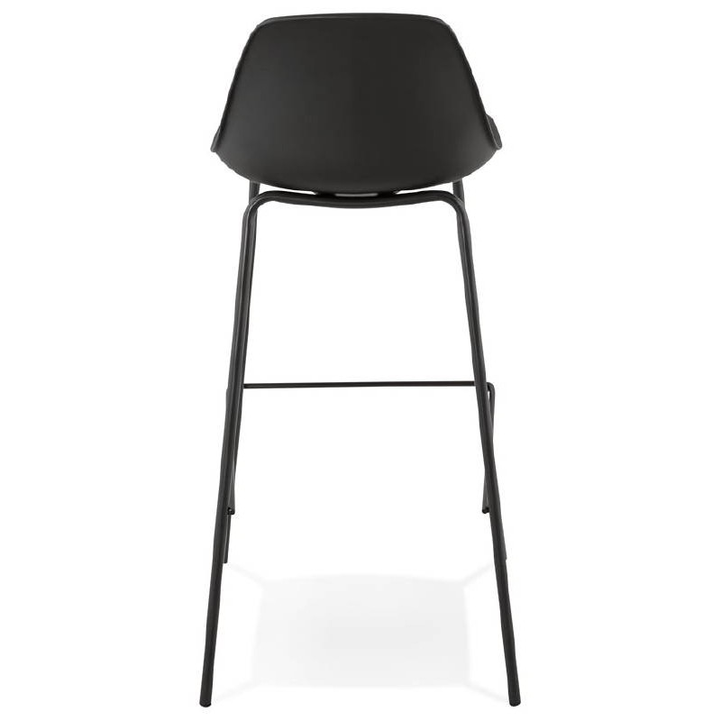 Industrial bar OCEANE (black) Chair bar stool - image 37412