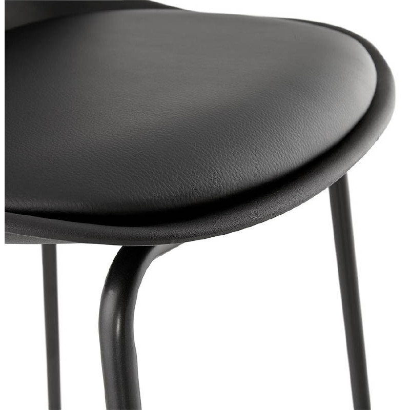 Industrial bar OCEANE (black) Chair bar stool - image 37414