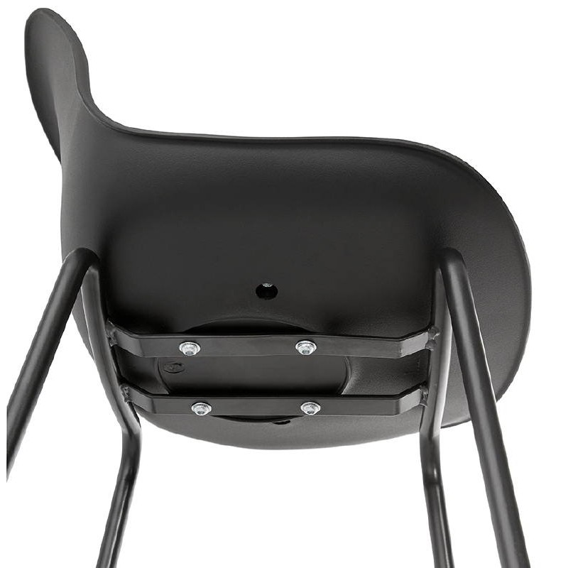 Industrial bar OCEANE (black) Chair bar stool - image 37417