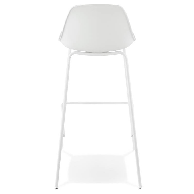 Industrial bar OCEANE (white) Chair bar stool - image 37424