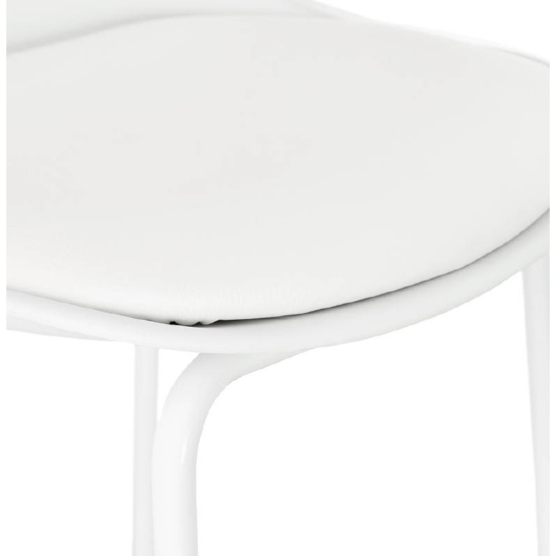 Industrial bar OCEANE (white) Chair bar stool - image 37426