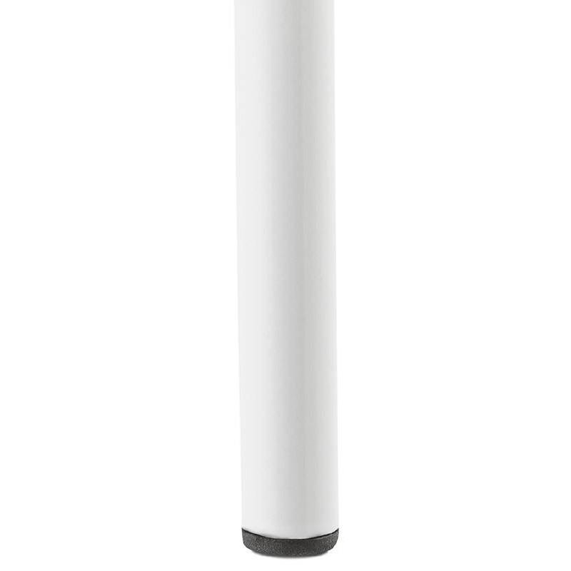 Tabouret de bar chaise de bar industriel OCEANE (blanc) - image 37429