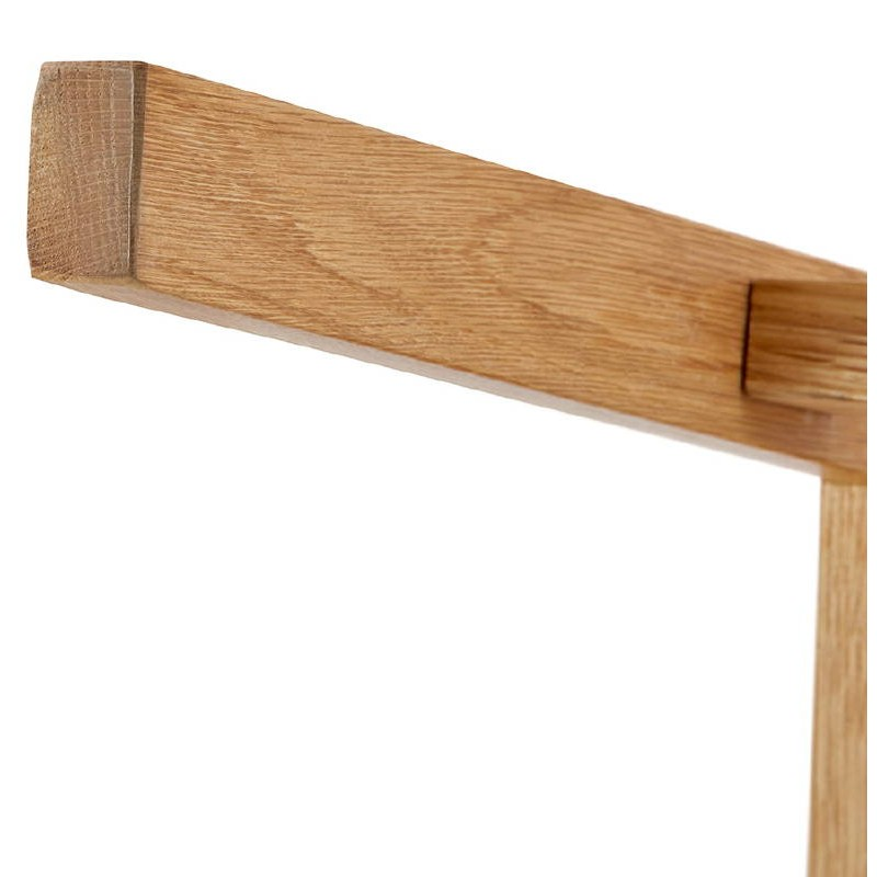 Tabouret de bar chaise de bar mi-hauteur design scandinave FLORENCE MINI (noir) - image 37455