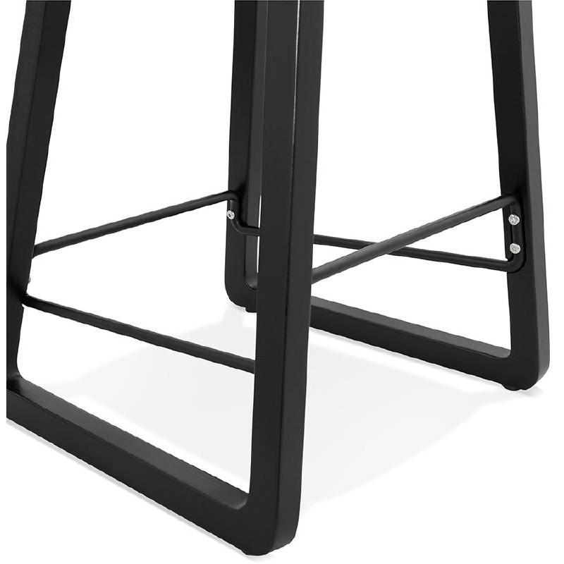 Tabouret de bar chaise de bar mi-hauteur design OBELINE MINI (blanc) - image 37561