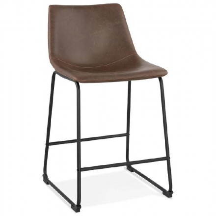 Bar bar halfway up vintage JOE MINI (Brown) chair stool