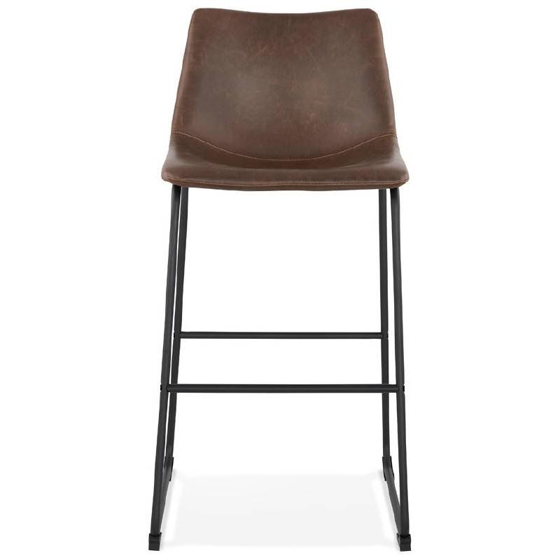 Tabouret de bar chaise de bar vintage JOE (marron) - image 37654