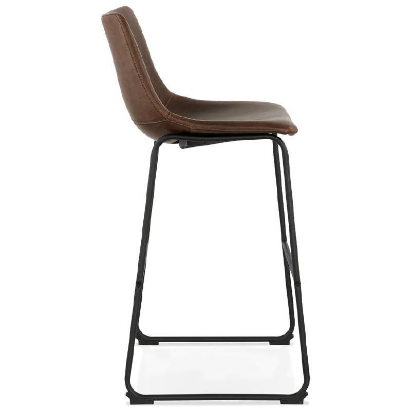 Tabouret de bar chaise de bar vintage JOE (marron) - image 37655