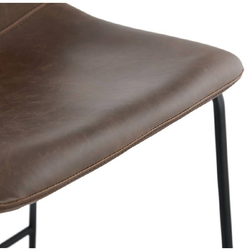Tabouret de bar chaise de bar vintage JOE (marron) - image 37659