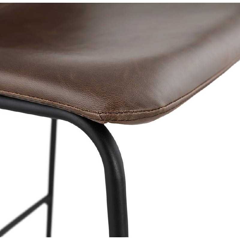 Tabouret de bar chaise de bar vintage JOE (marron) - image 37660
