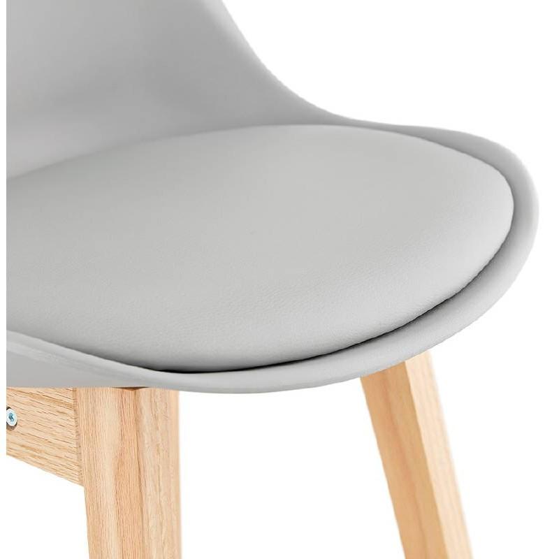 Skandinavisches Design Halbhoher Dylan Mini Bar Sessel Barhocker
