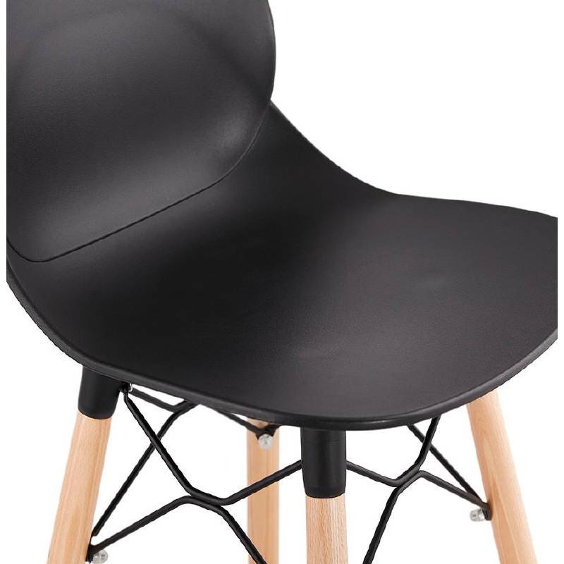tabouret de bar chaise de bar mi hauteur scandinave paco. Black Bedroom Furniture Sets. Home Design Ideas