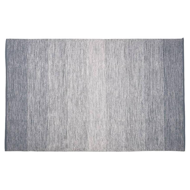 Tappeto design rettangolare (230 X 160 cm) cotone Basil (blu) - image 38506