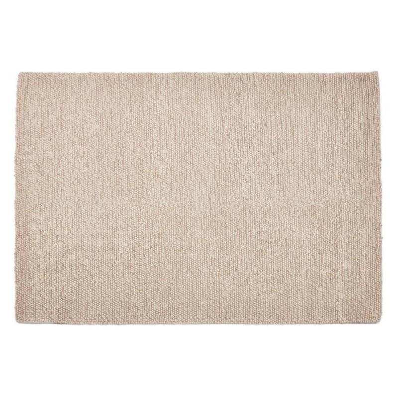 Tapis design rectangulaire (230 cm X 160 cm) BADER en laine (beige) - image 38585
