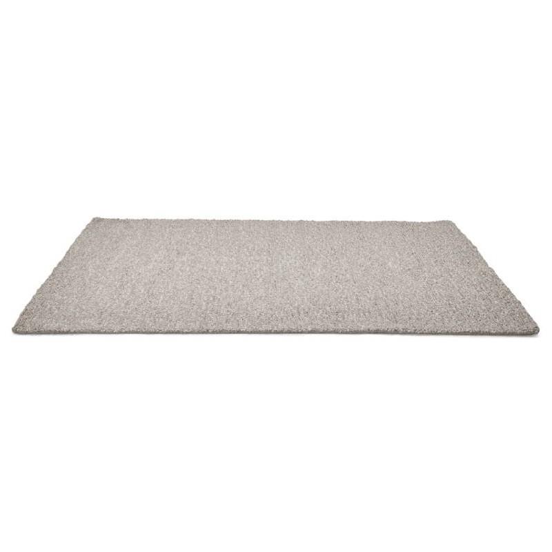 Tapis design rectangulaire (230 cm X 160 cm) BADER en laine (gris) - image 38598
