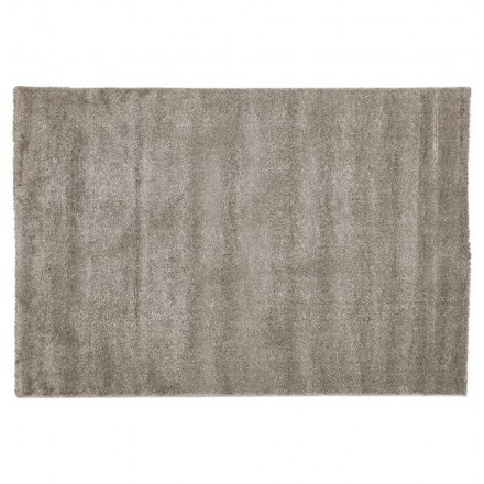 Carpet design rectangular (230 cm X 160 cm) m (gray) polypropylene