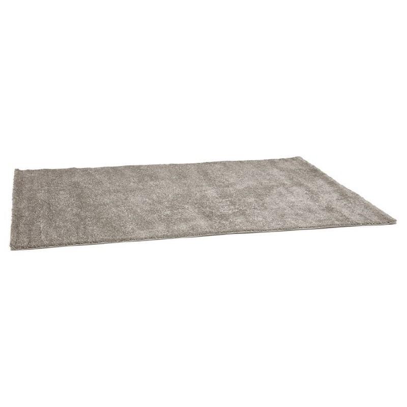 Tapis design rectangulaire (230 cm X 160 cm) MADY en polypropylène (gris) - image 38630