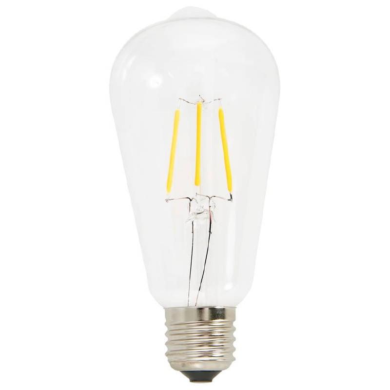 Vintage industriale lunga lampadina filamento di vetro di for Lampadina lunga led