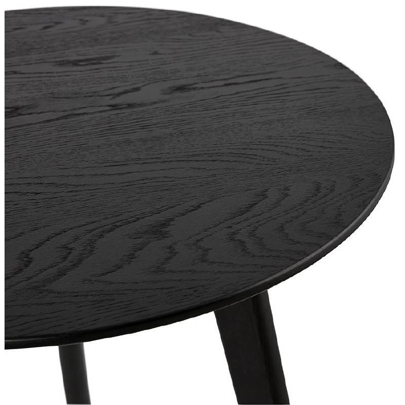 Tables gigognes ART en bois et chêne massif (noir) - image 38674
