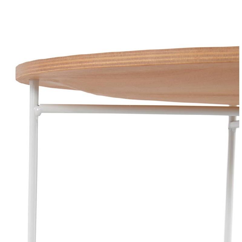 Table d'appoint, bout de canapé design ZACK (naturel) - image 38758