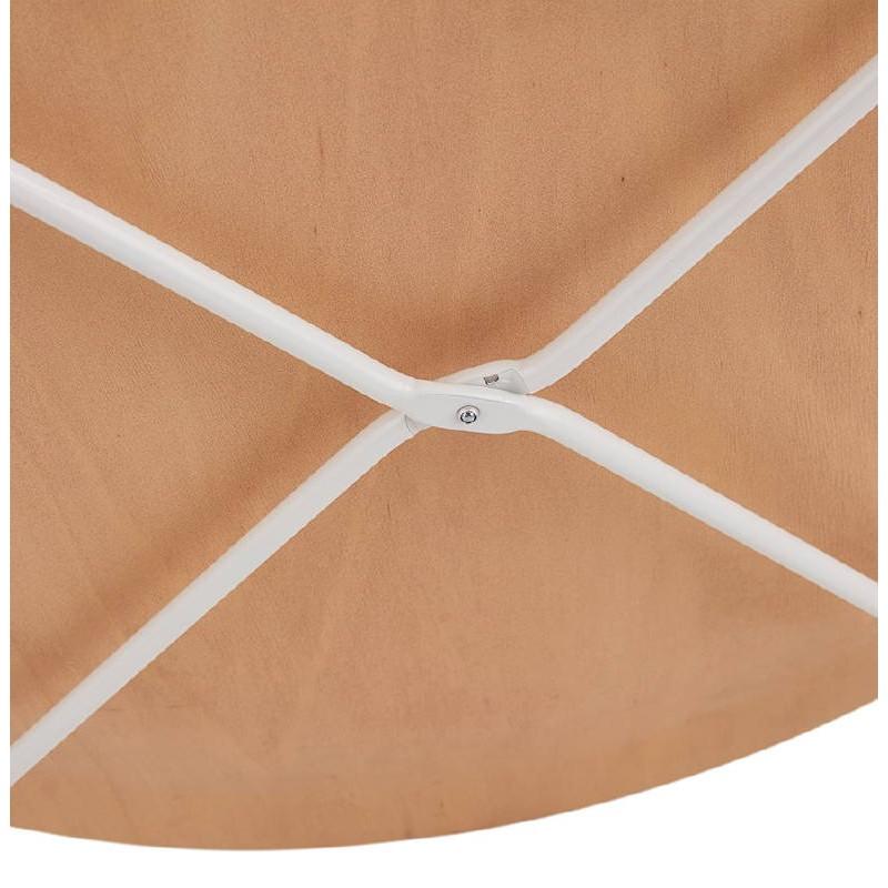 Table d'appoint, bout de canapé design ZACK (naturel) - image 38760