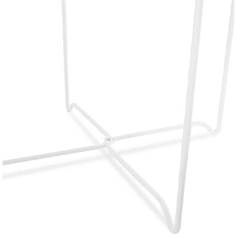 Table d'appoint, bout de canapé design ZACK (naturel) - image 38761